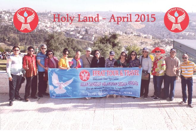 Tour ke Israel Gallery 24 April - 4 Mei 2015 5 holyland_tour_5